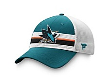 San Jose Sharks 2020 Draft Trucker Cap