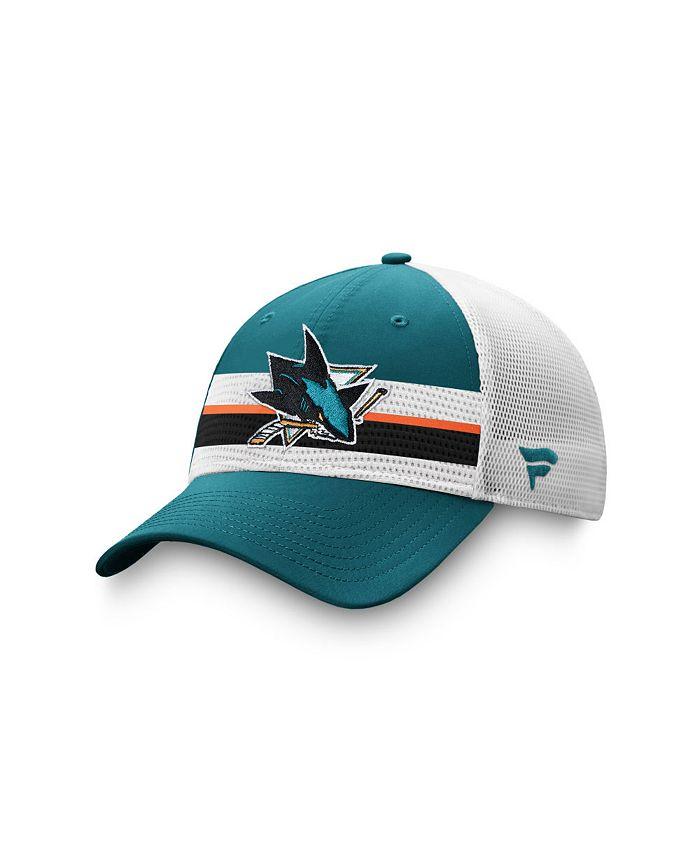 Authentic NHL Headwear - San Jose Sharks 2020 Draft Trucker Cap