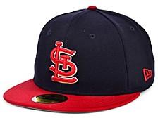 St. Louis Cardinals 100th Patch 59FIFTY Cap
