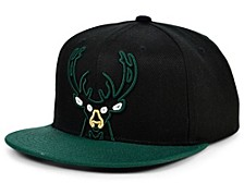 Milwaukee Bucks Neon Crop XL Snapback Cap