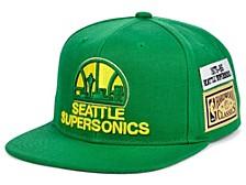 Seattle SuperSonics Hardwood Classic Jockey Snapback Cap