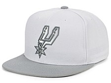 San Antonio Spurs Cool Gray Snapback Cap
