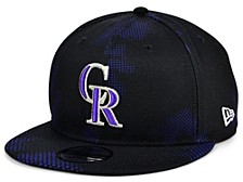 Men's Colorado Rockies Team Fleck 9FIFTY Cap