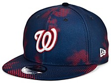 Men's Washington Nationals Team Fleck 9FIFTY Cap
