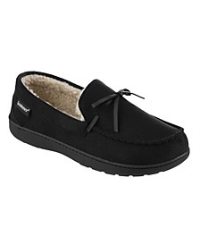 Men's Memory Foam Microsuede Nigel Moccasin Slippers