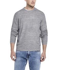 Men's Soft Touch Stripe Crew Neck Sweater