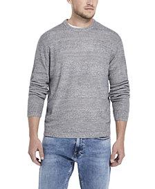 Weatherproof Vintage Men's Soft Touch Stripe Crew Neck Sweater
