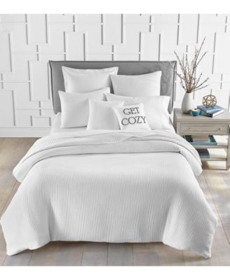 Matelassé Ribbed 2-Pc. Twin Comforter Set, Created for Macy's