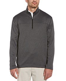 Men's Two-Tone Half-Zip Jacket