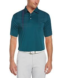 Men's Oversized Plaid Polo Shirt