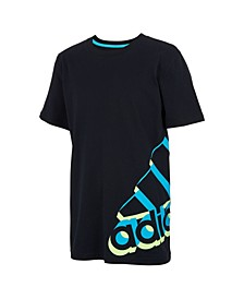 Toddler Boys Short Sleeve Core Repeating Tee