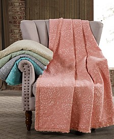 Oversized Paisley Cotton Throw