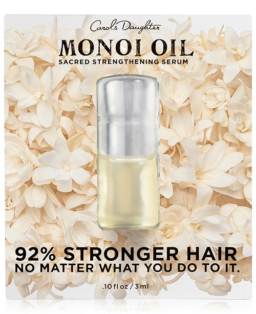 Carol's Daughter Receive a FREE Monoi Oil sample with any Carol's Daughter purchase