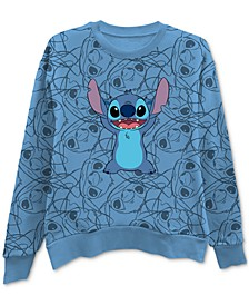Printed Stitch-Graphic Sweatshirt