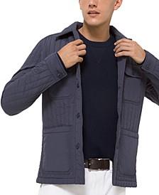 Men's Vertical Quilted Jacket