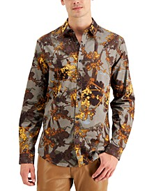 INC Men's Beau Printed Shirt, Created for Macy's