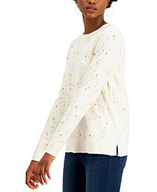Star-Print Sweater, Created for Macy's