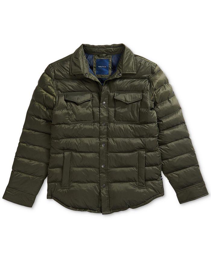 Nautica - Men's Overshirt Jacket