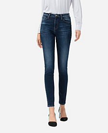 FLYING MONKEY Women's High Rise Skinny Jeans
