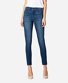 Women's High Rise Skinny Crop Jeans