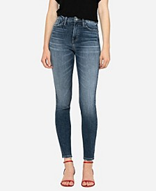 Women's High Rise Skinny Ankle Jeans