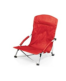 """The Beach Is Where I Belong"" Tranquility Portable Beach Chair"