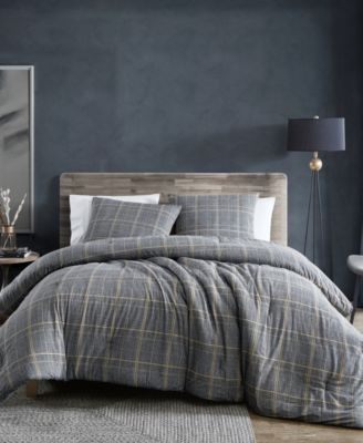 Sussex Brushed Cotton Flannel Duvet Cover Set, Twin