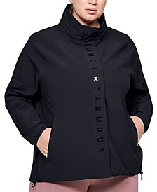Plus Size Recover Zippered Jacket