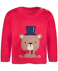 Baby Boy Bear Sweater, Created for Macy's