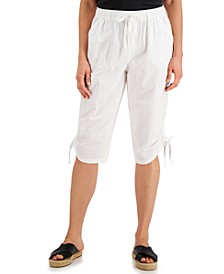 Petite Cotton Ruched Skimmer, Created for Macy's