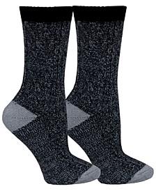 Women's Marled 2pk Crew Socks