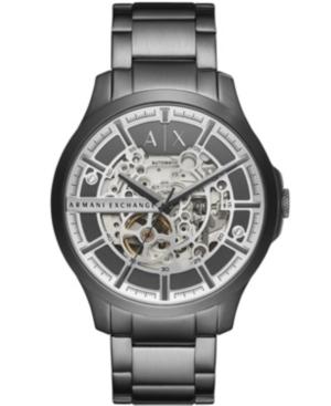 Men's Hampton Gray Stainless Steel Bracelet Watch 46mm