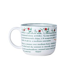 Winterberry 20oz Toffee Recipe Mug