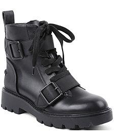 XOXO Women's Freemont Lug Sole Boot
