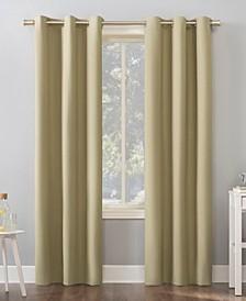 """Cyrus Blackout Grommet Curtain Panel, 40"""" x 84"""""""