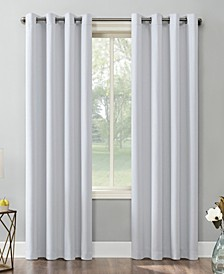 """Saxon Blackout Grommet Curtain Panel, 54"""" x 63"""""""