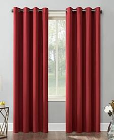 """Saxon Blackout Grommet Curtain Panel, 54"""" x 84"""""""
