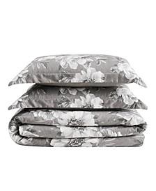 Rochelle Floral 3 Piece King Comforter Set
