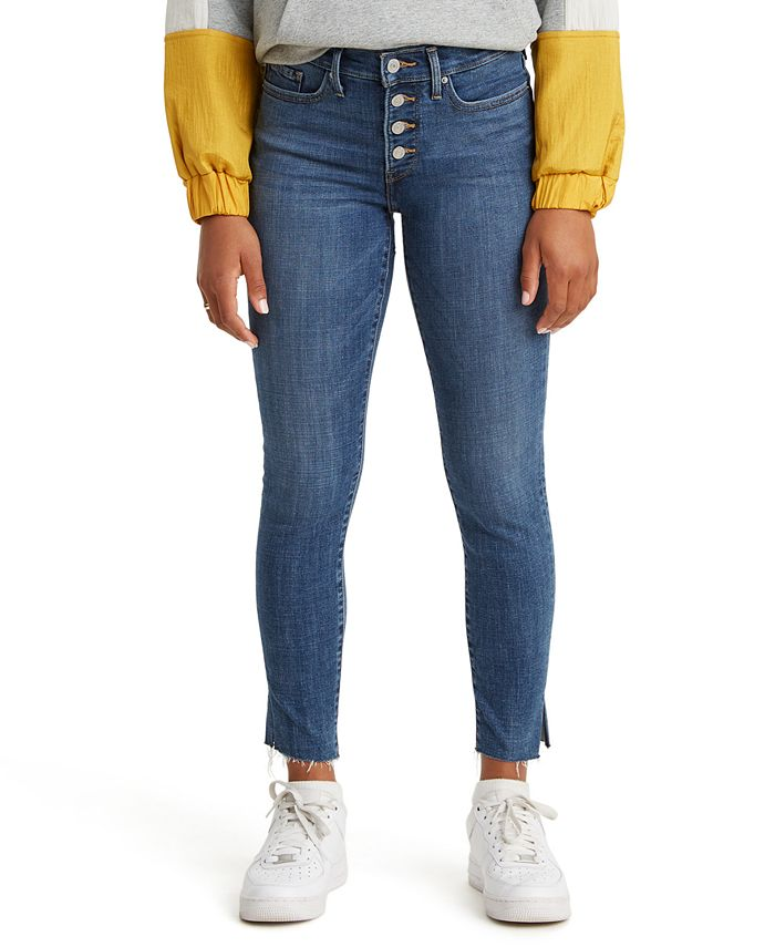 Levi's - 311 Studded Ankle-Zip Shaping Skinny Jeans