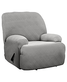 Stretch Sensations Double Diamond Jumbo Recliner Cover