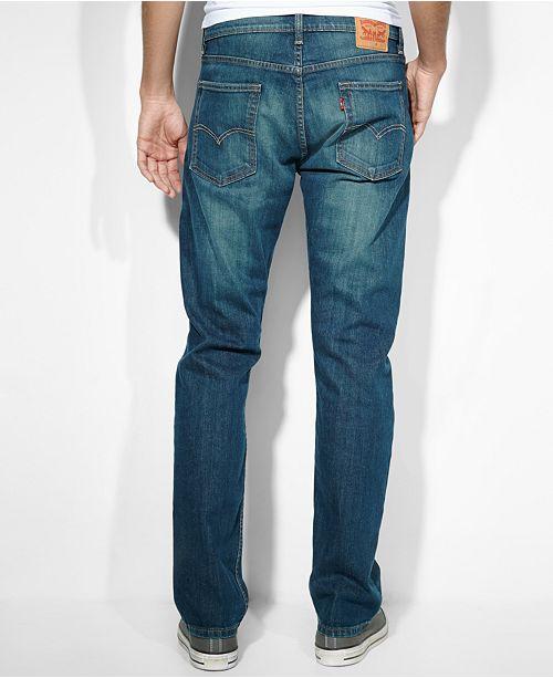 48e10b18ca4 Levi's 513™ Slim Straight Fit Jeans & Reviews - Jeans - Men - Macy's