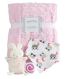 Baby Girls Roly Poly Baby 5 Piece Gift Set