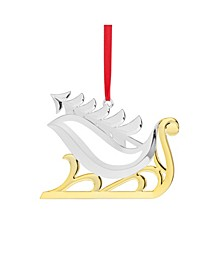 Sleigh with Tree Ornament