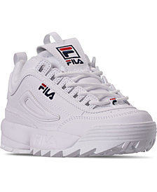 Fila Little Boys Disruptor II Casual Sneakers from Finish Line