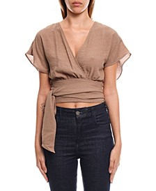 Women's Wrap Blouse