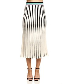Women's Striped Skirt