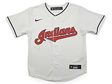 Cleveland Indians Kids Official Blank Jersey