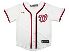Washington Nationals Kids Official Blank Jersey