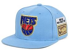 New Jersey Nets Hardwood Classic Jockey Snapback Cap