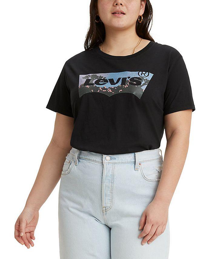 Levi's - Trendy Plus Size Perfect T-Shirt